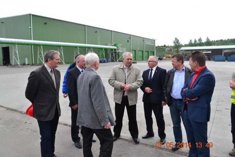 Wizyta przedstawicieli Zarządu W Rudnie